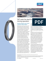 SKF Seals for Borax Mine