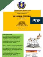 Curriculo Cerrado PPT