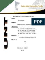 Aspersion Metodos