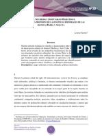 Lorena Fuentes. Glusberg y Mariáteguiabel y Amauta. Cuadernos de pensamiento Latinoamericano N° 20