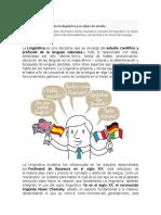 TAREA de Linguistica General