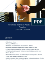 BiometricAccessControl Training