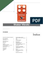 Tc Electronic Shaker Vibrato Manual Spanish