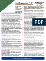 Diccionario de Ceramica