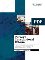 Turkeys Constitutional Reform