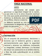 Defensa Nacional Diapositivas