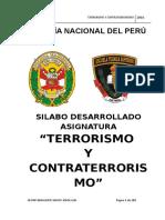 Silabo-terrorismo y Contraterrorismo