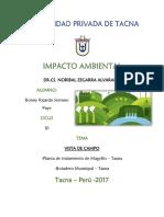 1ER INFORME - 3ERA UNIDAD - VISITA A LA PLATAN DE TRATAMIENTO DE MAGOLLO Y BOTADERO MUNICIPAL.pdf