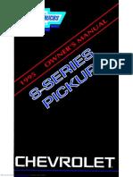 Chevrolet 1995 s10 Pickup