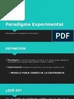 Paradigma Experimental