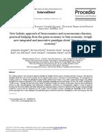 New Holistic Approach of Bioeconomics and Ecoeconomics Theories,