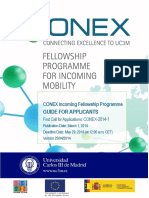 Conex-guide for Applicants