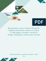 Anvisa Lanca Cartilha Com Recomendacoes Tecnicas Para o Combate Ao Aedes Aegypti
