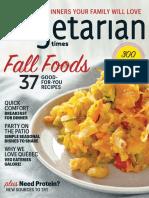 Vegetarian Times, USA  - 2016 - September-October