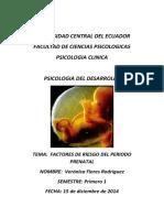 Segundo Trabajo Factores de Riesgo Del Período Prenatal