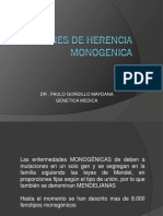 Patron de Herencia Monogenica 2013 Dr Gordillo
