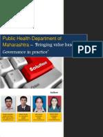 EGovernance in Public Health Dept