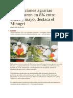 Exportaciones Agrarias PERU
