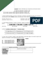 AVALIAÇÃO MATEMÁTICA 3° BIM 5° ANO
