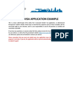 Visa Application Example - CAN 2017