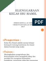 PENYELENGGARAANKELAS IBU HAMIL 2017.pptx