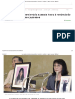 Como Suicídio de Funcionária Exausta Levou à Renúncia Do Presidente de Gigante Japonesa - BBC Brasil