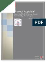 Project Appraisal Fianl