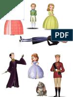 Personajes Sofia