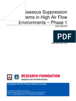 Gaseous Suppression High Airflow