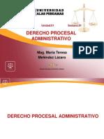 DERECHO PROCESAL ADMINISTRATIVO 1
