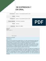 Tecnicas de Expresion y Persuasion Oral Examen