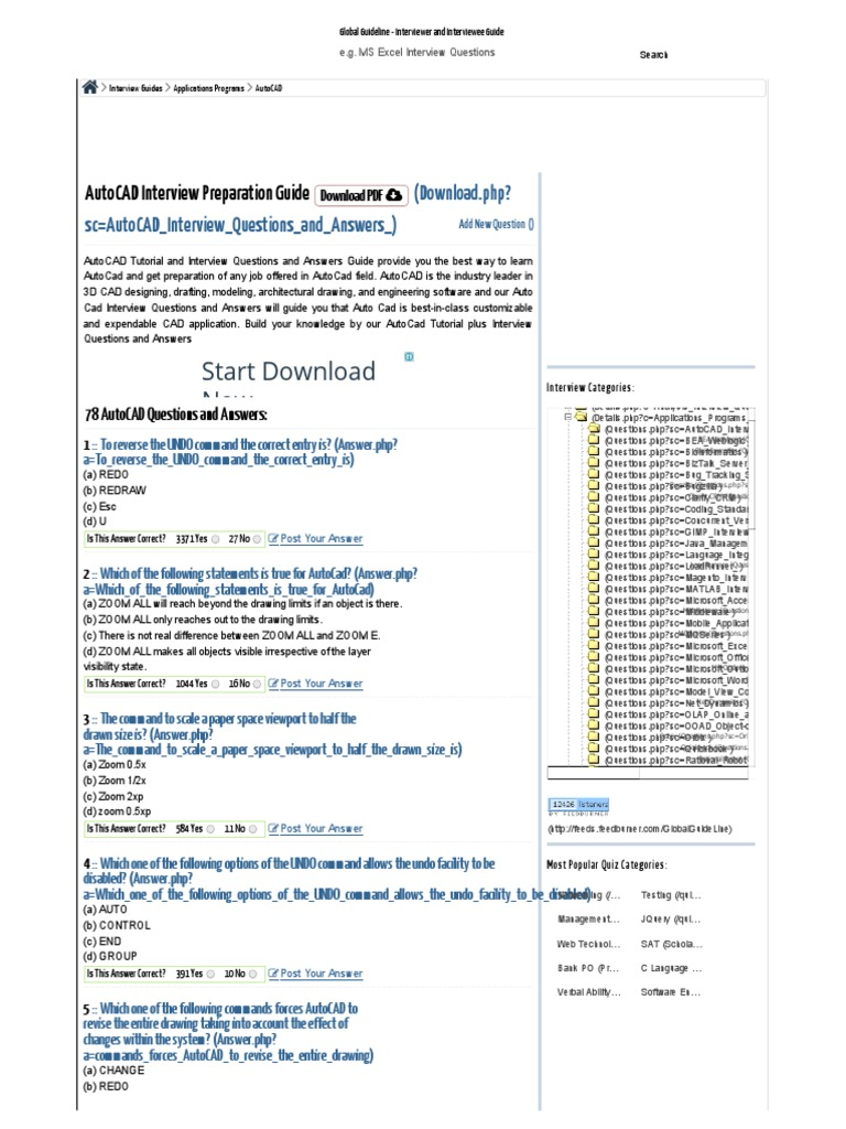 78 autocad interview questions and answers auto cad command line rh pt scribd com Interview Questions and Answers PDF autocad job interview questions and answers pdf