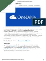 Como Usar o OneDrive