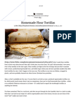 Homemade Flour Tortillas _ the Pioneer Woman