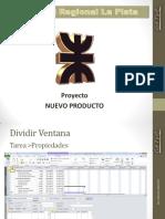 8-3 Admistración de Proyectos