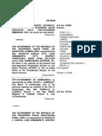 The Province of Cotabato vs GRP Peace Panel, G.R No 183591, October 14, 2008
