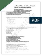 2. Soal Pendalaman Materi Pilihan Ganda Kelas XI Bab 2. Permasalahan Sosial [Kurikulum 2013].pdf