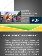 Chapter 3 Managing Event