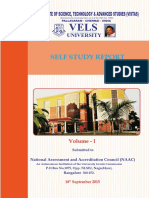 Self Study Report Vol01