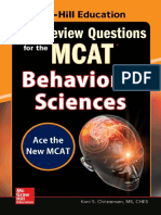 500 Review Questions for the MCAT Behavioral Sciences