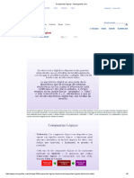 Compuertas lógicas - Monografias