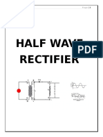 180499717 Half Wave Rectifier