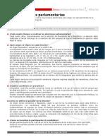 Ficha Elecciones Parlamentarias