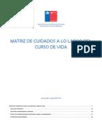 Matriz de Cuidados de Salud a Lo Largo de La Vida Cuadernillo 2