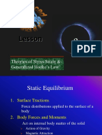 Theory of Stress Strain and Hooks Law