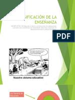 Diversificaciòn de La Enseñanza Ppt Presentacion