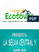 Selva Central - Pozuzo Prof Gutierrez 3dias 2noches 2017