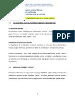 }Estudio de Ciencia Politica