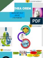 SALUD OCUPACIONAL - Dorothea Orem Teoria.