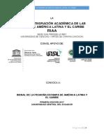 Bienal Pequeña Estampa LATINOAMERICA Y EL CARIBE  RIAA, ECUADOR, UNESCO